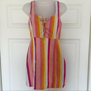 FOREVER 21 | Striped Mini Dress